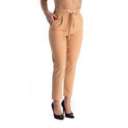 Pantaloni Dama Crem Meaghan