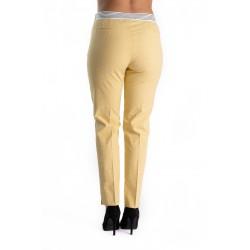 Pantaloni Dama Galbeni Sunny