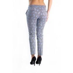Pantaloni Dama Flora Blue