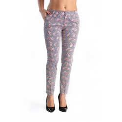 Pantaloni Dama Flora Pink