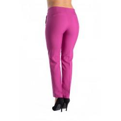 Pantaloni Dama Roz Ciclam Lauren