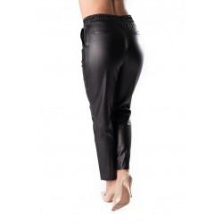 Pantaloni  Dama Piele Eco Masura Mare Sarah