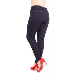 Pantaloni Bleomarin Cu Insertie De Dantela La Buzunare Marime Mare