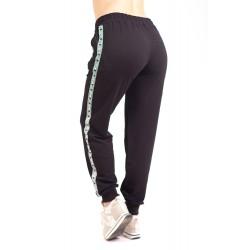 Pantaloni Dama trening negru marime mare