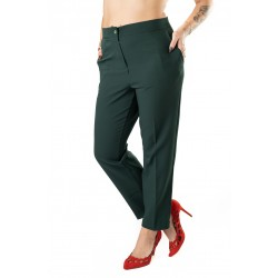 Pantaloni Dama Verzi Masura Mare Oana
