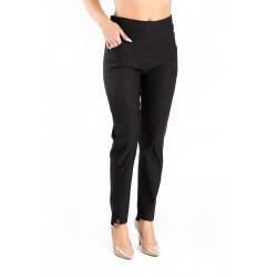 Pantaloni Eliza marime mare negri
