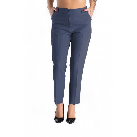 Pantaloni Eleganti Bleumarin, Masura Mare Bella