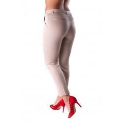 Pantaloni dama crem carla office