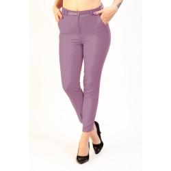 Pantaloni Dama Mov Lila Office Athena