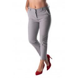 Pantaloni Dama Office Gri Karol Premium