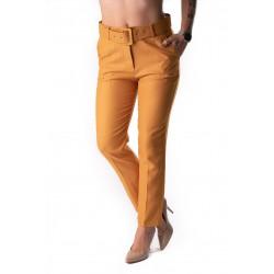 Pantaloni Dama Office Galbeni, Raiat Fin Glory