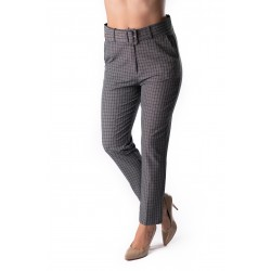 Pantaloni Dama Office Gri, Carouri Mia