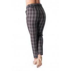 Pantaloni Dama Office Gri, Carouri Ella