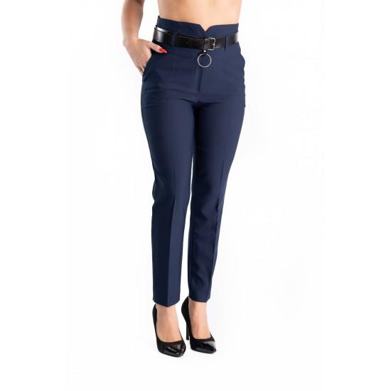 Pantaloni Dama Bleumarin Office Afrodita