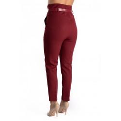 Pantaloni Dama Eleganti Grena Keily