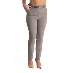 Pantaloni Dama Gri Office Keily
