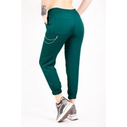 Pantaloni cu lant verzi