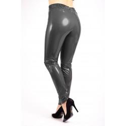 Pantaloni Dama Din Latex Negri