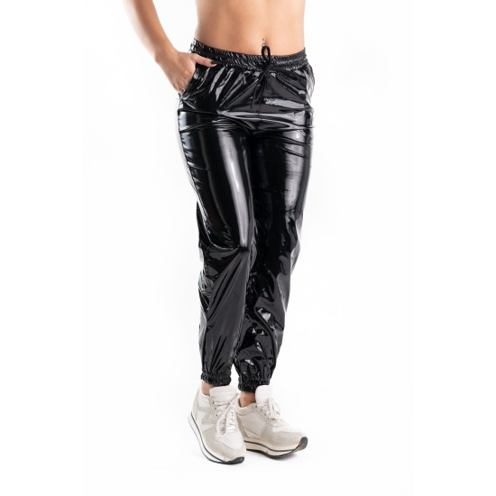 Pantaloni Dama Din Latex Negri, Peyton