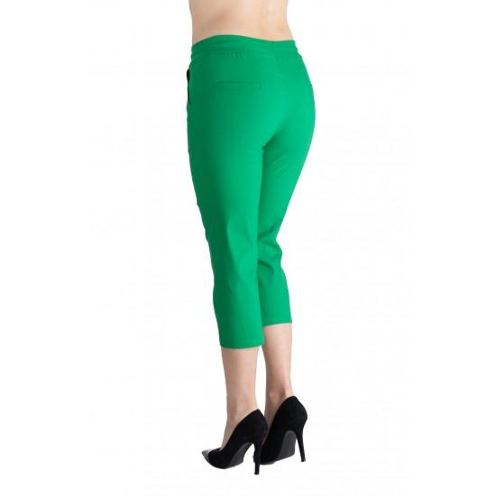 Pantaloni Dama Masura Mare Trei Sferturi 3/4, Verde