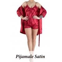 Pijamale Satin Dama