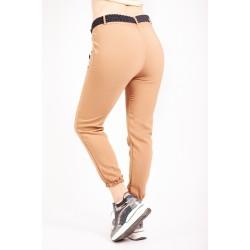 Pantaloni Dama Crem sport