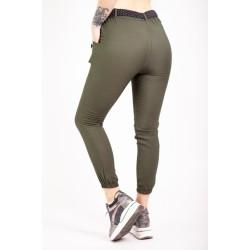 Pantaloni Dama kaki sport